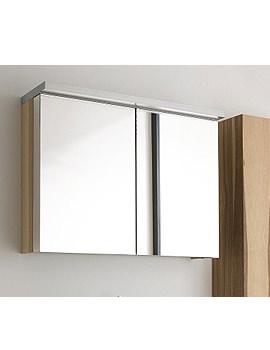 Duravit Fogo Mirror Cabinet 600mm With Wooden Underfloor - FO 9672