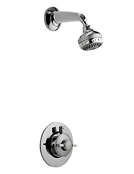 Aqualisa Quartz Thermostatic Concealed Shower With Fixed Head - QZ3163