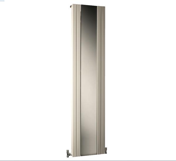 Dq heating rt mirror 545 x 1800mm vertical radiator 6 panels for Mirror radiator