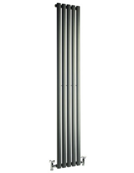 Cove 413 x 1800 Single Sided Vertical Radiator Anthracite