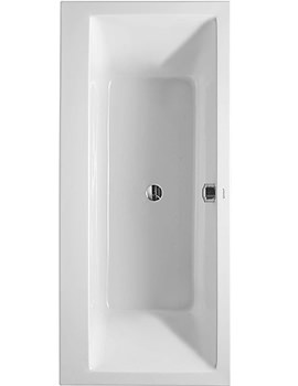Related Duravit Vero 1700 x 750mm Bathtub With Right Backrest Slope - 700147