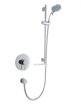 Mira Element SLT Built-In Valve Thermostatic Mixer Shower Chrome
