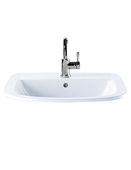 Related Twyford Refresh Square 560 x 460mm Countertop Basin - RS4511WH