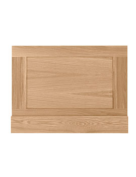 Imperial Shaker Bath End Panel 750mm Natural Oak - XG44200020