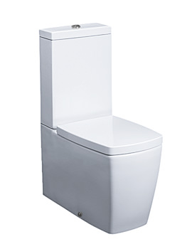 Bauhaus Touch Close Coupled WC With Cistern And Soft close Seat