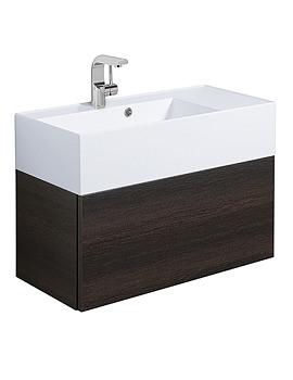 Elite Panga Slim Line Single Drawer Basin Vanity Unit 700mm