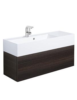 Elite Panga Slim Line Single Drawer Vanity Basin Unit 1000mm