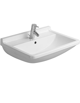 Starck 3 Washbasin With Overflow 650mm - 0300650000