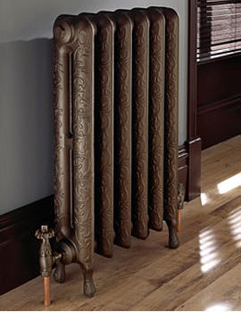 Tumba Old Copper Cast Iron Radiator 6 Bar - ZRAD03300000G
