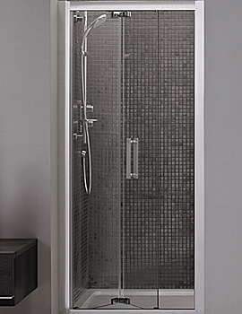 Related Ideal Standard Synergy Infold Shower Door 1000mm - L6209EO