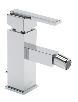 Vespa Mono Bidet Mixer Tap With Pop Up Waste Chrome