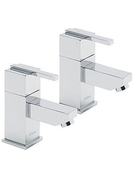 Vespa Pair Of Bath Tap Chrome - 45020