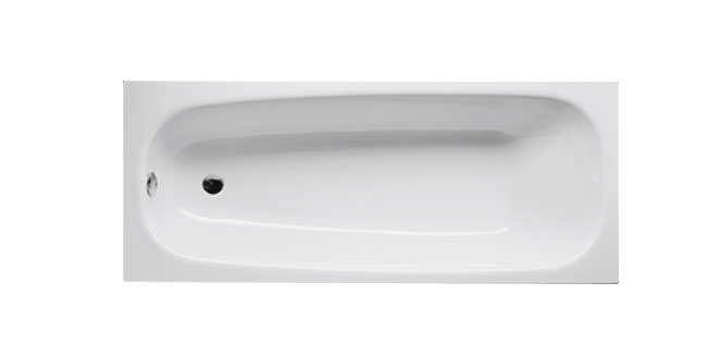 Large Image of Bette Form Rectangular Steel Bath 1600mm x 700mm -  BETTE 1600