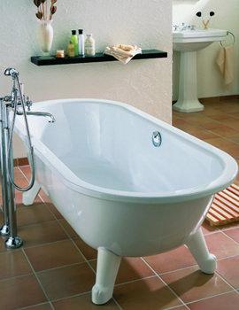 Bette Clou Freestanding Super Steel Bath 1680 x 730mm - BETTE8770