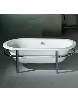 Bette Combo Freestanding Super Steel Bath 1650 x 750 - BETTE2140