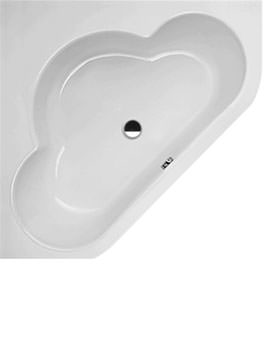 Corner Sieger Comfort Super Steel Bath 1480 x 1480mm