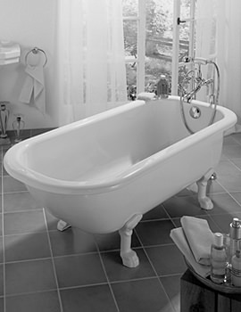 Bette Roma Frestanding Super Steel Bath 1700 x 750mm - BETTE3130