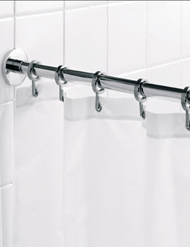 Luxury Round Shower Curtain Rail Rod - AD116541