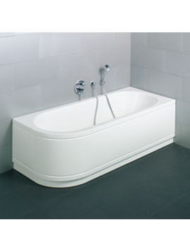 Starlet IV Silhouette Comfort Super Steel Bath 1700 x 750mm
