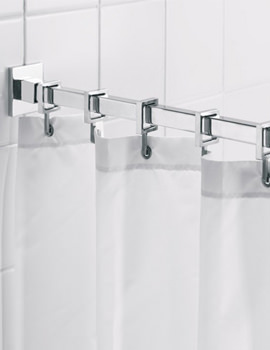 Luxury Square Shower Curtain Rod - AD116441