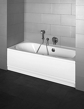 Bette Esprit Comfort Bath Niche Installation 1800 x 800mm