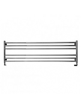SBH Long And Low Wide Dual Fuel Towel Radiator 1500mm x 440mm - SS304