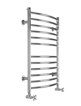 SBH Midi Curve Electric Towel Radiator 600mm x 810mm - SS202E