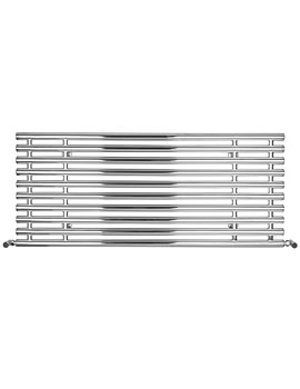 SBH Horizontal Tubes Dual Fuel Towel Radiator 1300mm x 560mm - ST903H