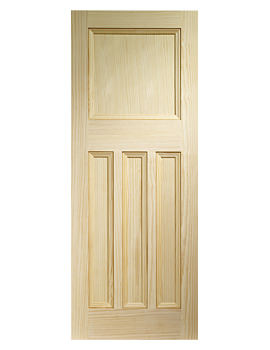 Related XL Internal Vine DX Panelled Pine Door - VGDX4P27