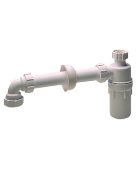 Twyford 1.25 Inch Resealing Bottle Trap - WF8438XX