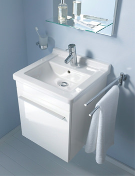 X-Large 440mm LH Vanity Unit And 480mm Starck 3 Basin
