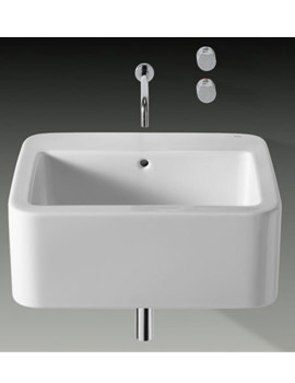 Element Wall Hung Basin 600mm x 515mm - 327570000