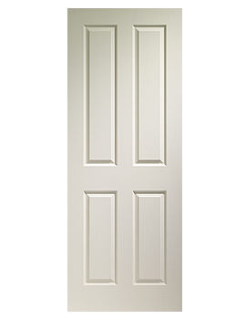 Related XL Internal Victorian 4 Panel White Moulded Door - WMVIC21