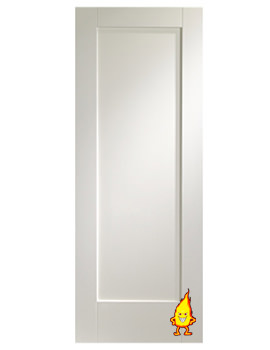 Related XL Internal Pattern 10 White Primed Fire Door - WPP1027-FD