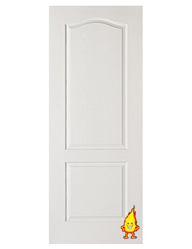 Related XL Internal Classique 2 Panel White Moulded Fire Door - WM2P27FD