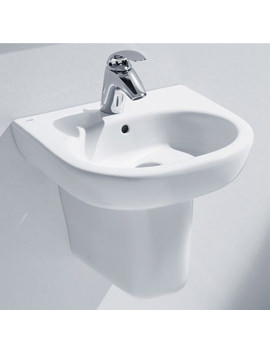 Roca Meridian-N Cloakroom Wall Hung Basin 450mm Wide - 327245000