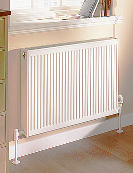 Quinn Compact Single Convector Radiator 1400mm Wide - More Height Sizes Available