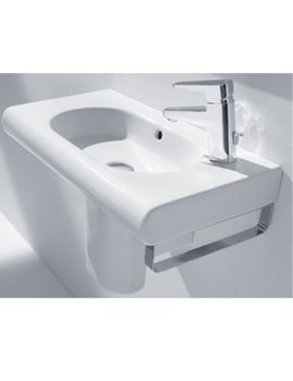 Meridian-N Compact Right Hand Tap Hole Basin 600mm - 32724T000