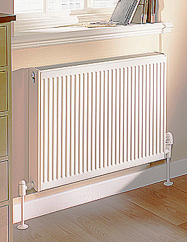 Barlo Compact Radiator 1600mm Wide 11K - More Height Sizes Available