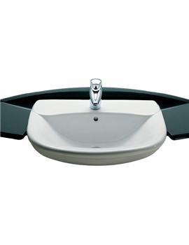 Giralda Semi Recessed Basin 560mm Wide - 327467000