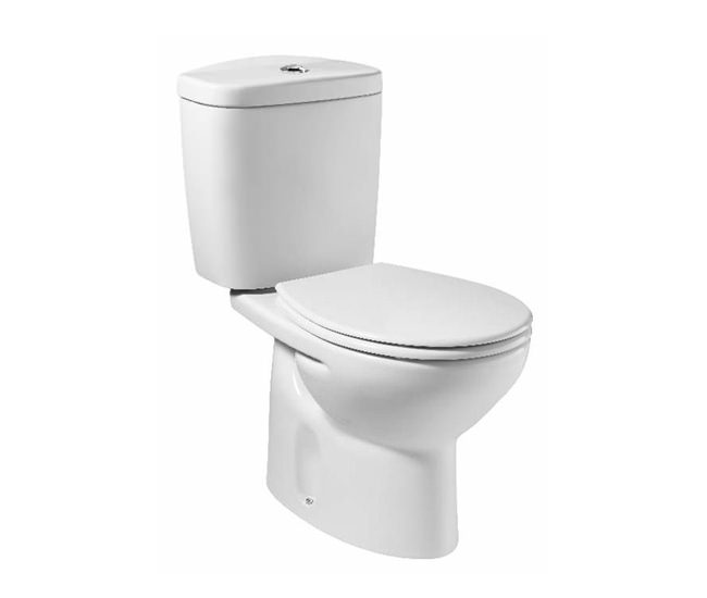 Roca Laura Close Coupled WC Pan White 665mm | 342396000
