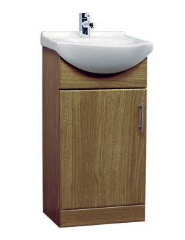 Essential Gem Vanity Basin Unit Calvados 450mm - GEM005C