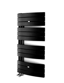 Essential Aries Curved Anthracite Towel Warmer 550 x 1080mm - 148268