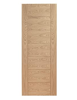 Related XL Internal Palermo Panelled Oak Door - INTOPAL24