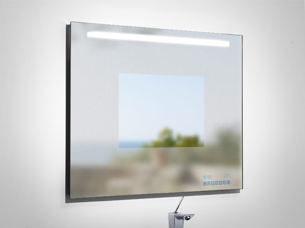 Large Image of Roca Innova Bathroom Mirror 1000mm x 790mm - 812211000