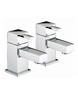 Bristan Quadrato Basin Taps - QD 1-2 C