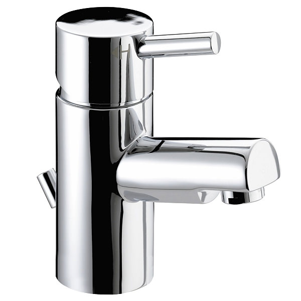 Large Image of Bristan Prism Basin Mixer Tap With Pop-up Waste - PM BAS C