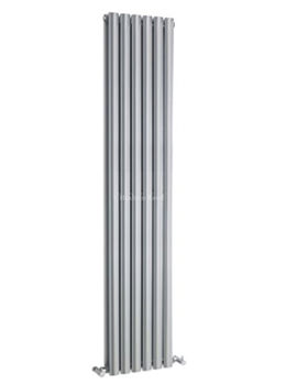 Revive Double Panel Silver Radiator 354x1800mm - HLS82