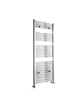 Essential Curved White Towel Warmer 600 x 1430mm - 148218