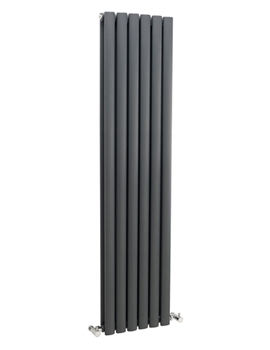 Revive 354 x 1800mm Anthracite Double Panel Vertical Radiator